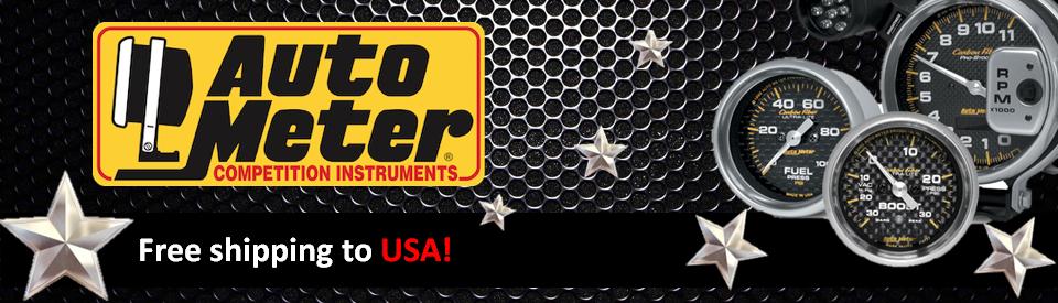 Auto Meter Brand Banner - US
