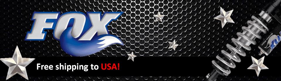 Fox Shox Brand Banner - US