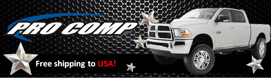 Pro Comp Suspension Brand Banner - US