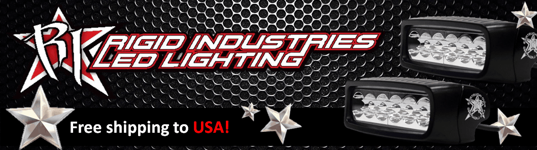 Rigid Industries Brand Banner - US