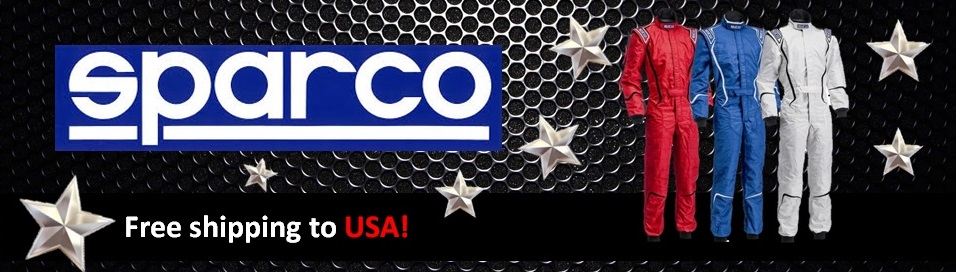Sparco Brand Banner - US