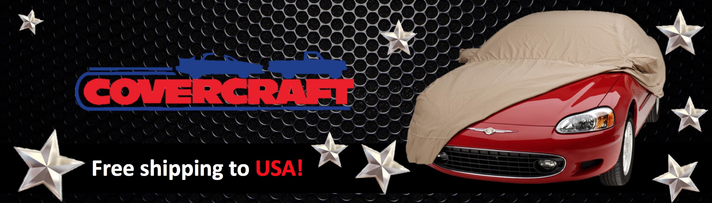 Covercraft Brand Banner - US