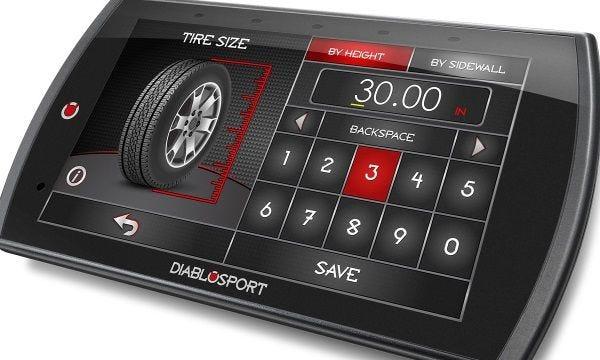 DiabloSport Trinity 2 Tire Gear Ratio