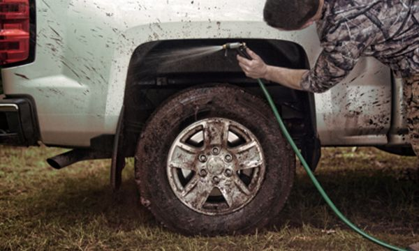 Husky Wheelwell Guards Resistant