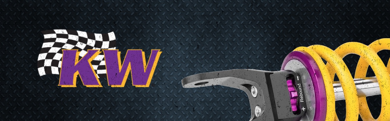 KW Suspensions Brand Banner - US
