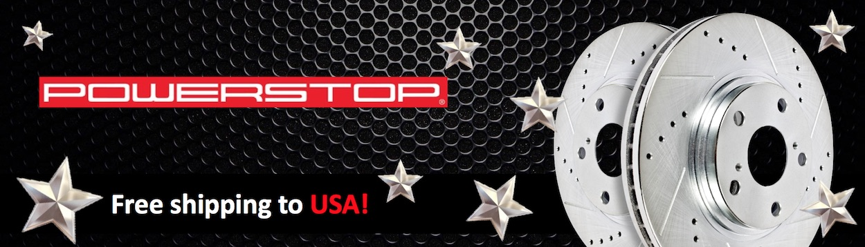 Power Stop Brand Banner - US