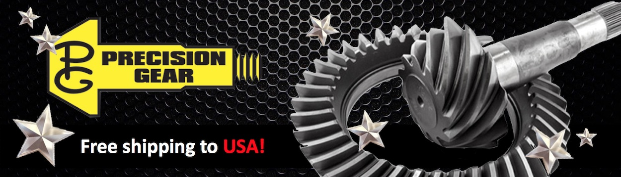 Precision Gear Brand Banner - US