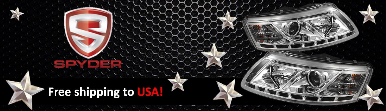Spyder Brand Banner - US